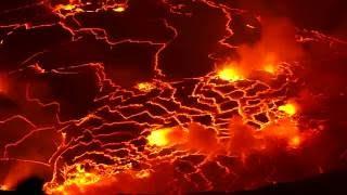 Nyirangongo Active Lava Lake