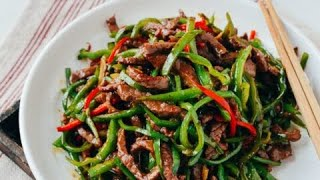 How to make the perfect beef with green pepper