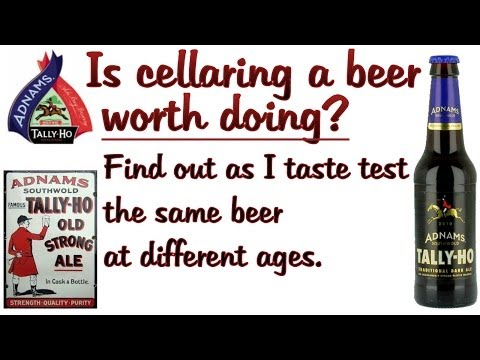 Is cellaring a beer worth doing? Vertical tastings of Adnams Tally Ho 2010 and 2012