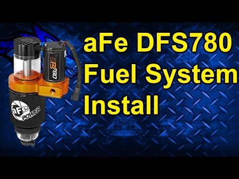 aFe DFS780 Fuel System Pump Install: 05-10 Dodge Cummins