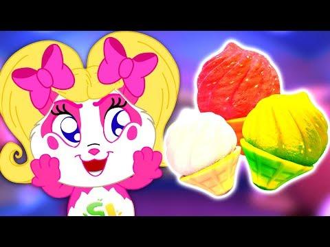 Ice Cream Song | Panda Bo Nursery Rhymes for Kids