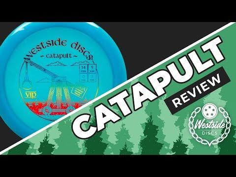 Westside Discs Catapult Review   Danny Lindahl