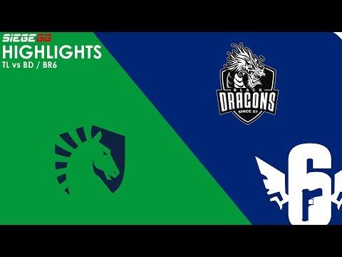 Liquid vs Black Dragons   BR6 Highlights
