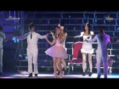 Singing im a barbie girl