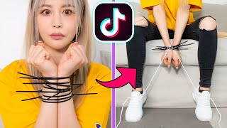 In today's video, wengie challenges herself to compete an epic viral tiktok challenge see if these life hacks actually work! we will try find as man...