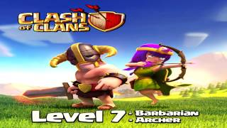Clash of Clans - NEW! Level 7: Barbarian & Archer Troop! Town Hall 11 ?
