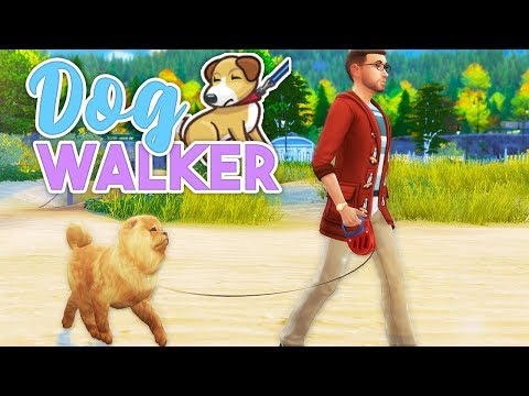 HIRE SOMEONE TO WALK YOUR DOGS | DOG WALKERS // The Sims 4 | Mod Overview