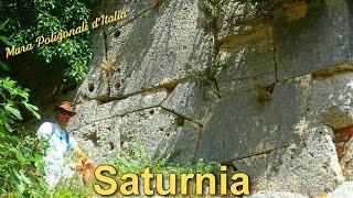 Saturnia - Mura Poligonali d'Italia