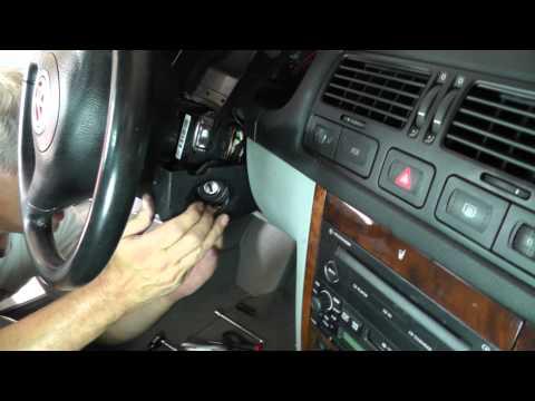 Volkswagen Jetta Removing Ignition Switch - Part 2