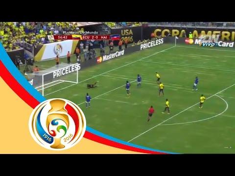 Gol de Noboa | Ecuador 3 - 0 Haití | Copa América | Televisa Deportes