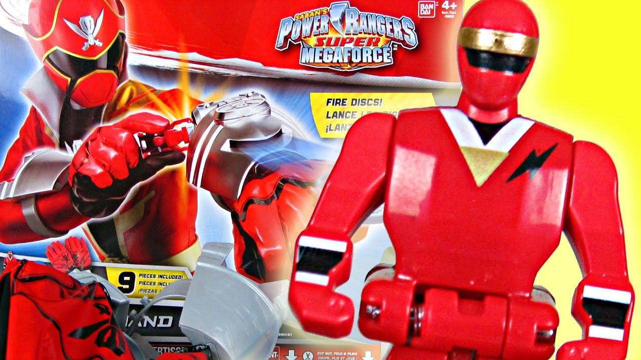 Power Rangers Super Megaforce DX Hand Gear Review! (Alien Ranger ...