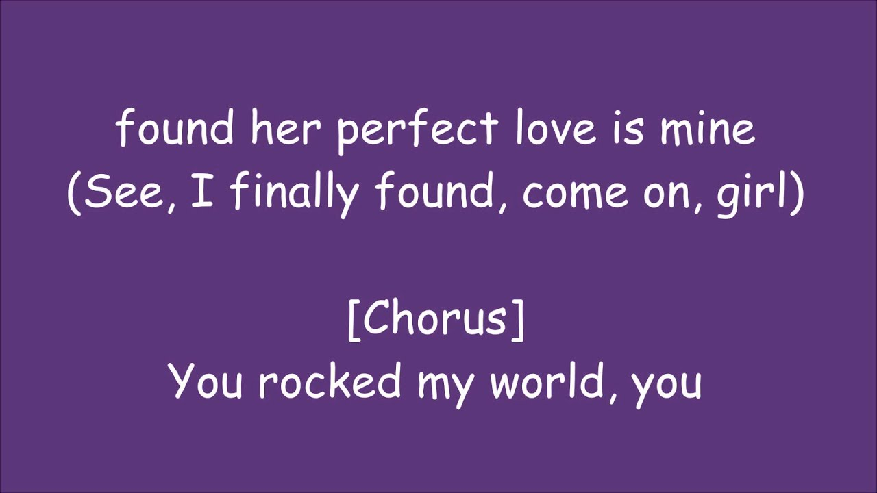 You Rock My World Remix) Lyrics -Michael Jackson ft. Jay-Z ...