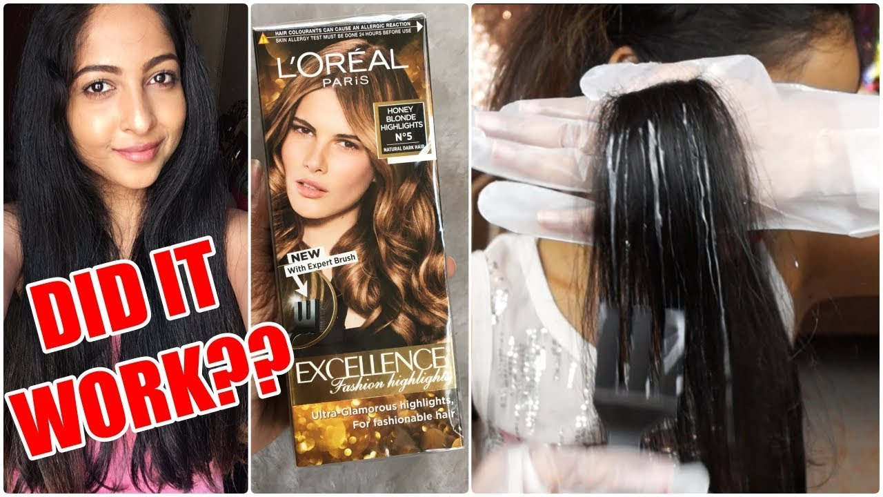 First Impressions Loreal Excellence Fashion Highlights Did It