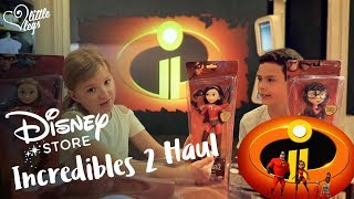 Incredibles 2 Disney Toys Review with Mr and Mrs Incredible, Jack Jack, Violet, Ednor, Elastigirl