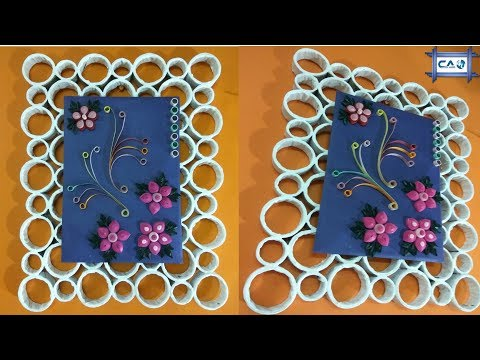 News Paper & Quilling Paper Art by Crazy Art 4U