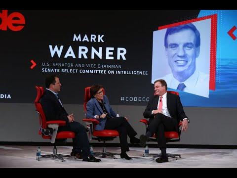 Sen. Mark Warner | Full interview | Code 2018