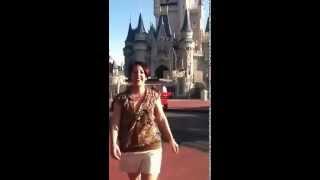 Burpee at Disneyland!