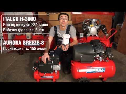 Как выбрать компрессор для гаража