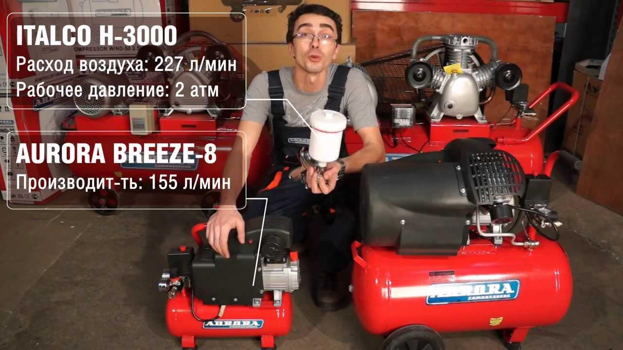 Как выбрать компрессор для гаража - YouTube