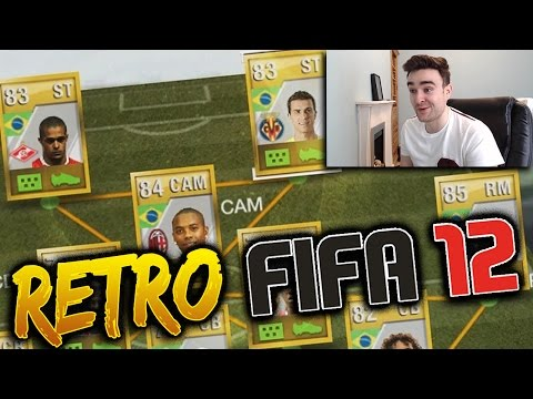 THE SWEATIEST SQUAD IN FIFA HISTORY!!! - RETRO FIFA 12 SQUAD BUILDER