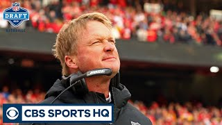 Can Gruden stay focused during the first round in the draft? | NFL Draft 2019 | CBS Sports