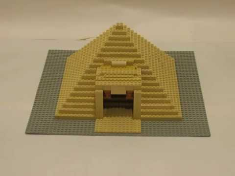LEGO MOCs #26 - Egyptian Pyramid with working traps