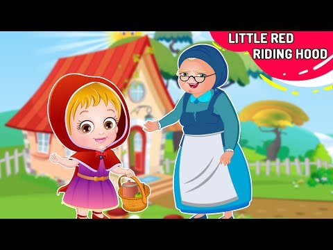 लिटिल रेड राइडिंग हुड Kahani | Little Red Riding Hood Story In Hindi By Baby Hazel Hindi Fairy Tales