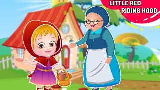 लिटिल रेड राइडिंग हुड | Little Red Riding Hood Story In Hindi By Baby Hazel Hindi Fairy Tales