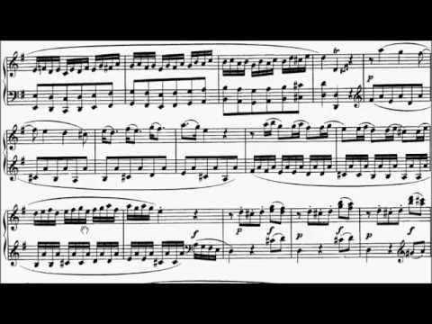 ABRSM Piano 2015-2016 Grade 7 A:3 A3 Mozart Allegro Sonata in G K.283 Movement 1 Sheet Music