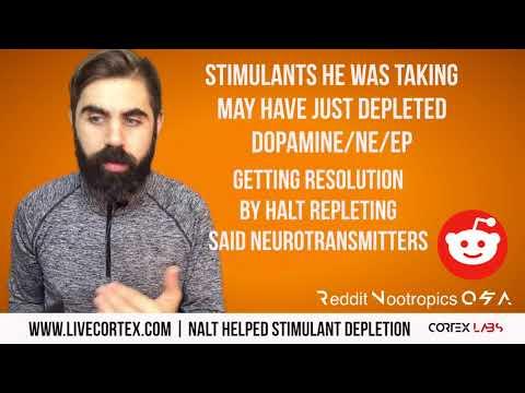 Reddit Nootropics Q&A: NALT helped STIMULANT NT Depletion