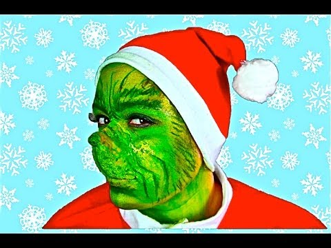 THE GRINCH MAKEUP TUTORIAL!