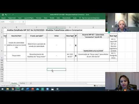 Webinar Funcional Consultoria|Covid-19| Gestão em período de crise #1 Os impactos da MP 927/2020