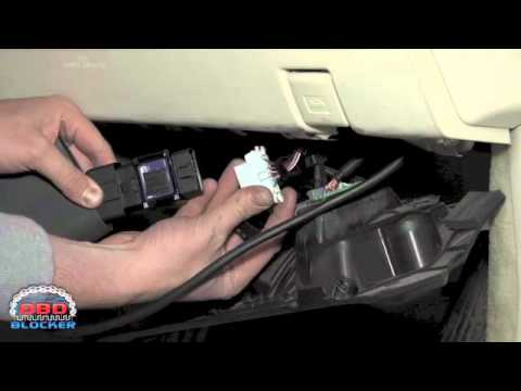 OBD Blocker Lexus installation on