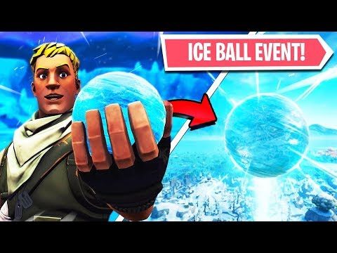 🔴 FORTNITE ICE BALL EVENT COUNTDOWN! FORTNITE Season 7! Sphere EVENT LIVE! (24 Hour Stream)