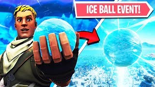 🔴 FORTNITE ICE BALL EVENT COUNTDOWN! FORTNITE Season 7! Sphere EVENT LIVE! (24 Hour Stream)