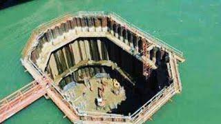 هل تعلم كيف يقوم المهندسين ببناء الهياكل الضخمة تحت الماء؟