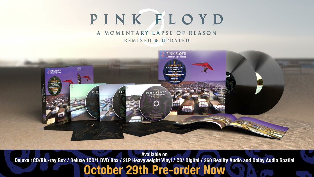 Pink Floyd - A Momentary Lapse Of Reason (Remixed & Updated Unboxing Video)