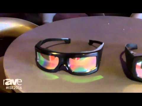 ISE 2016: Infitec Showcases Astrum and Space 3D Glasses