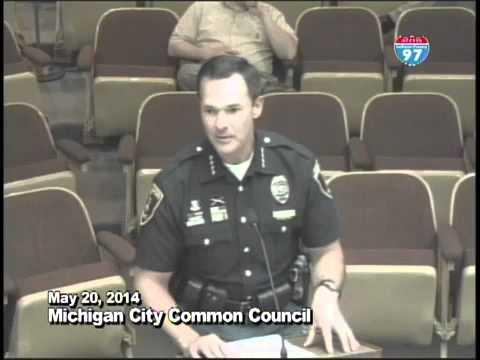 Michigan City Council MCPD Chief Swistek MRAP Comments