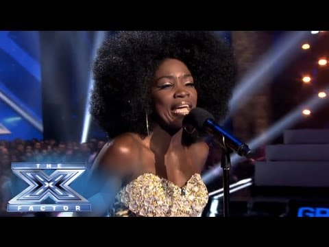 Lillie McCloud Brings It 'Home' - THE X FACTOR USA 2013
