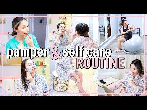 SELF CARE ROUTINE! MY POST PARTUM ROUTINE | Alexandra Beuter