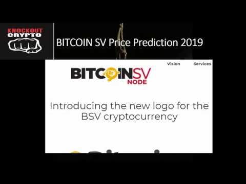 Bitcoin SV Price Prediction 2019 Bitcoin Cash SV Price Analysis