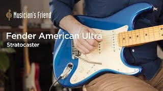Fender American Ultra Stratocaster Demo – All Playing, No Talking