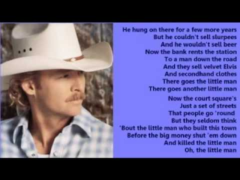 Alan Jackson - Little Man ( + lyrics 1998)