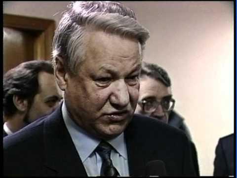 Ельцин в Нижнем Новгороде. 1995 г.