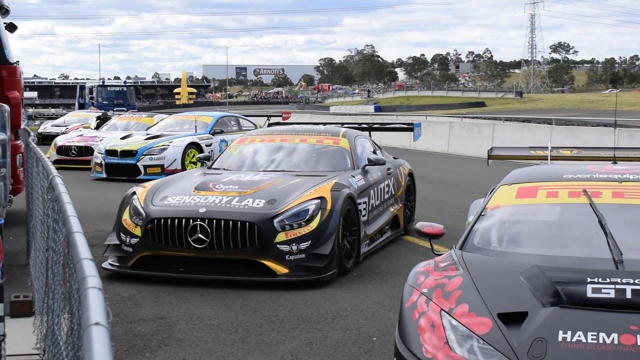 Supercars Campionship Qualifying Race Sydney