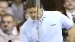 1991 US Open - Pete Weber vs. Mark Thayer - Part 1