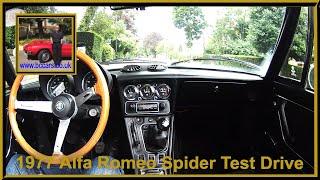 Virtual Test Drive in an 1977 Alfa Romeo Spider