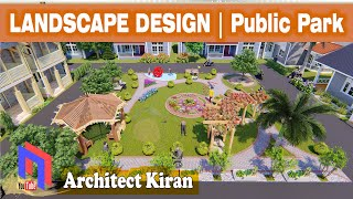 Landscaping of urban junk space