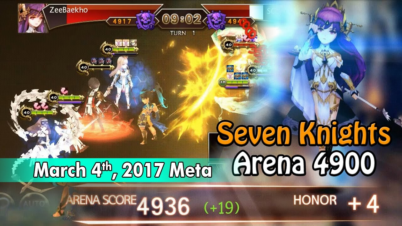 Seven Knights Arena (4900) - March 4th Meta